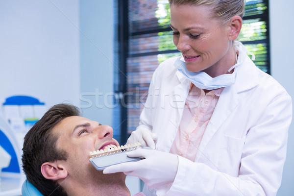Сток-фото: стоматолога · оборудование · пациент · медицинской