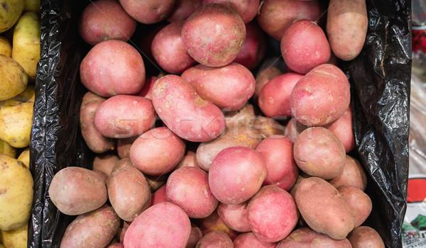 Pommes de terre épicerie magasin alimentaire lumière Photo stock © wavebreak_media