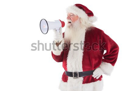 Santa claus ringing a bell Stock photo © wavebreak_media