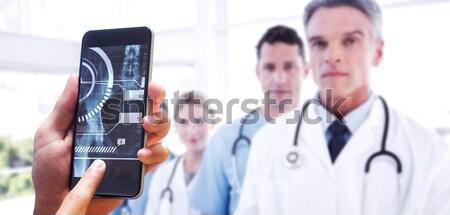 Kadın cerrah xray rapor hastane Stok fotoğraf © wavebreak_media