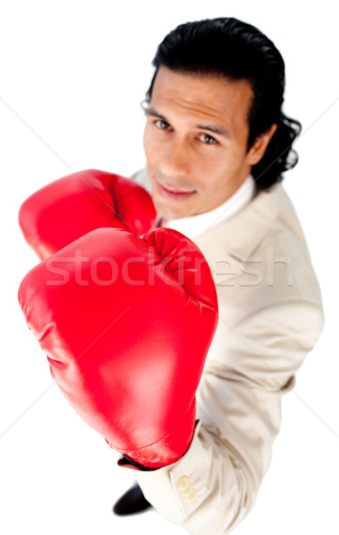 Charismatic businessman beating the competition  Stock photo © wavebreak_media