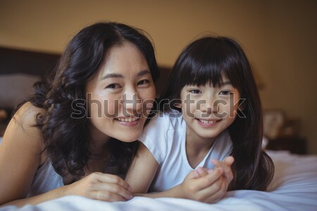 Ravi mère aider fils devoirs femme Photo stock © wavebreak_media