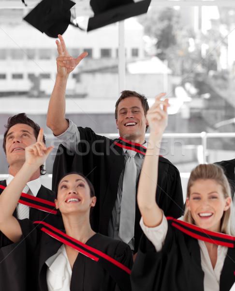 Groupe de gens collège différent homme éducation élèves Photo stock © wavebreak_media