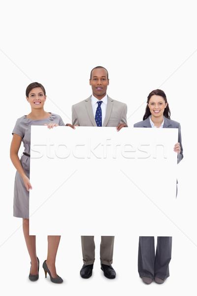 Witte achtergrond zakenlieden Stockfoto © wavebreak_media