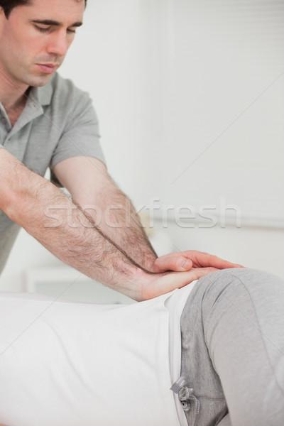 серьезный костоправ бедро пациент комнату Сток-фото © wavebreak_media
