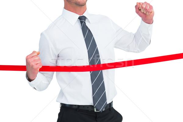 Biznesmen biały korporacyjnych sukces wyścigu Zdjęcia stock © wavebreak_media