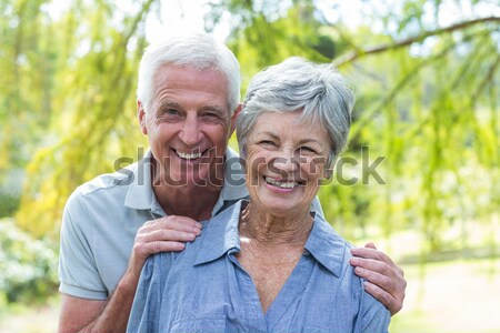 Happy old couple smiling  Stock photo © wavebreak_media