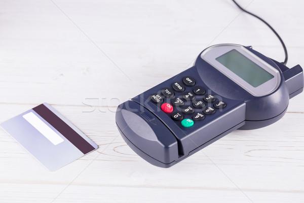 Pin terminal and credit card Stock photo © wavebreak_media