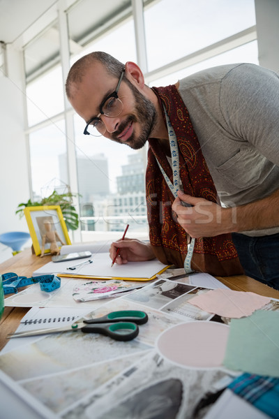 Male designer drawing sketch at studio Stock photo © wavebreak_media