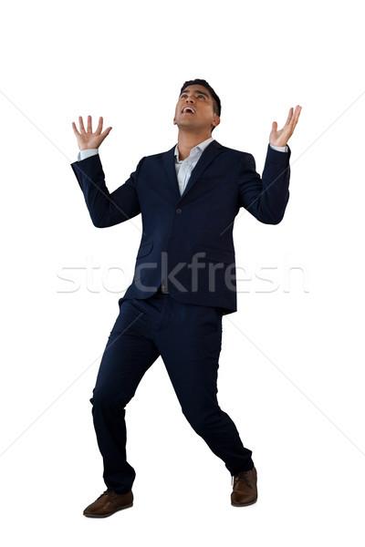 бизнесмен Постоянный белый исполнительного Сток-фото © wavebreak_media