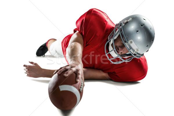 Sportok játékos küszködik zsákmány labda teljes alakos Stock fotó © wavebreak_media