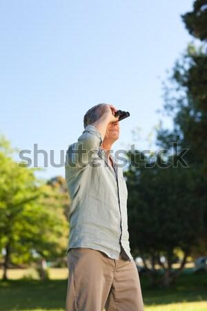 Futbolista pie suelo fitness verano Foto stock © wavebreak_media
