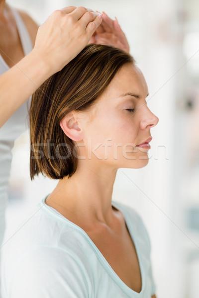 Kép masszőr masszázs nő fürdő sport Stock fotó © wavebreak_media