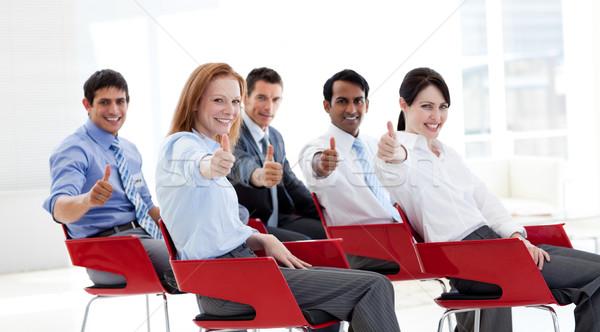 Gente de negocios conferencia negocios reunión trabajo Foto stock © wavebreak_media
