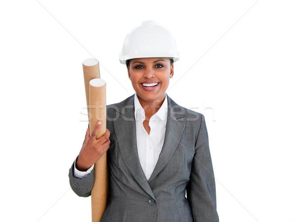 Portrait of an ethnic female architect Stock photo © wavebreak_media