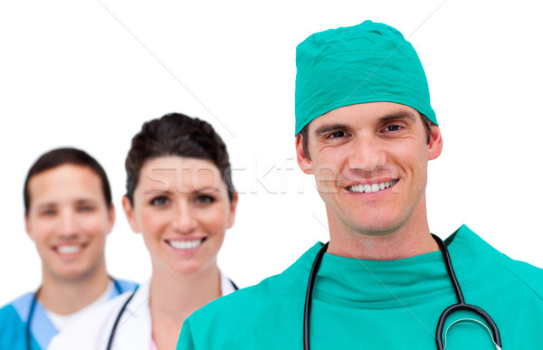 Stock photo: Portrait of a talented medical team