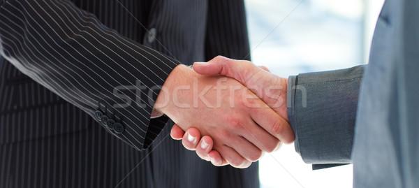 Business people shaking hands Stock photo © wavebreak_media
