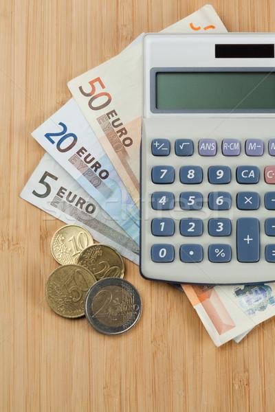 Dinero bolsillo calculadora escritorio escuela fondo Foto stock © wavebreak_media
