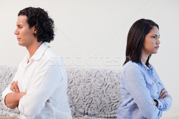 Boos ander liefde paar woede Stockfoto © wavebreak_media