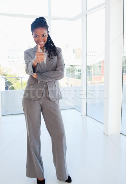 молодые секретарь Постоянный соглашение бизнеса Сток-фото © wavebreak_media
