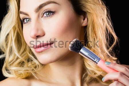 Olhos para cima olho sombra mulher cara Foto stock © wavebreak_media