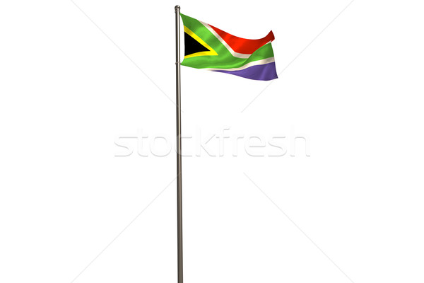 South african flag Stock photo © wavebreak_media