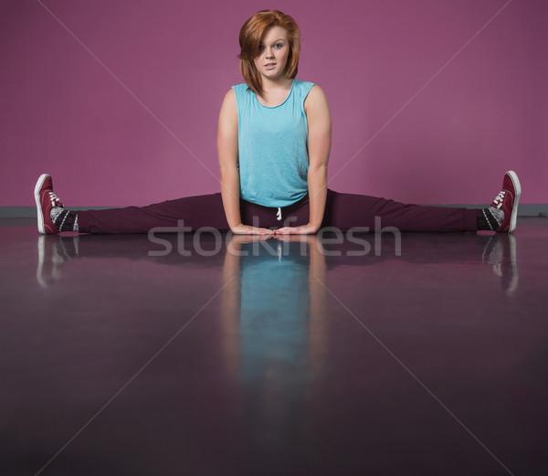 Csinos törik táncos tánc stúdió divat Stock fotó © wavebreak_media