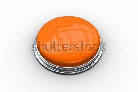 Digitalmente gerado brilhante laranja botão Foto stock © wavebreak_media