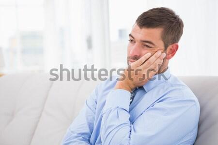 бизнесмен служба молодые Сток-фото © wavebreak_media