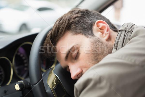酔っ 男 ハンドル 車 飲料 男性 ストックフォト © wavebreak_media