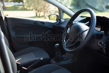 Coche interior volante primer plano viaje transporte Foto stock © wavebreak_media