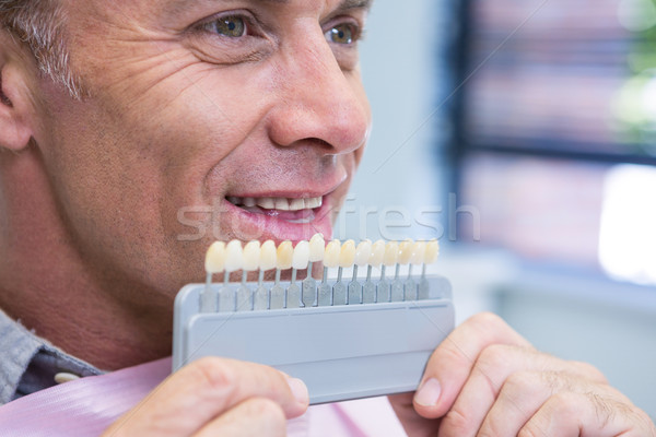 Close up of man holding medical equipment Stock photo © wavebreak_media