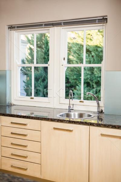 Interieur keuken interieur keuken geen mensen home tabel Stockfoto © wavebreak_media