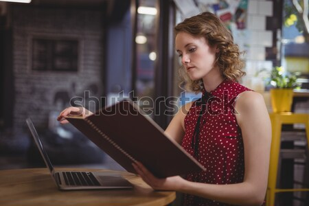 Woman using laptop Stock photo © wavebreak_media