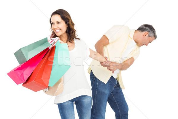 Souriant femme mari Photo stock © wavebreak_media