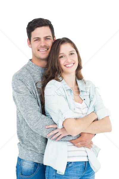 Cute paar witte vrouwelijke cool Stockfoto © wavebreak_media