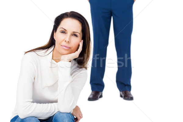 Angry couple ignoring each other Stock photo © wavebreak_media