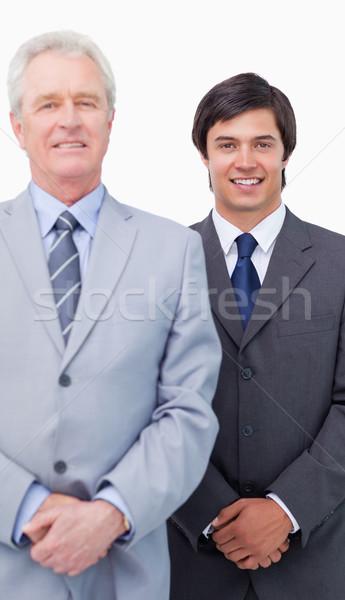 молодые продавцом наставник белый бизнеса бизнесмен Сток-фото © wavebreak_media