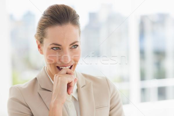 Młodych kobieta interesu jasne biuro Zdjęcia stock © wavebreak_media
