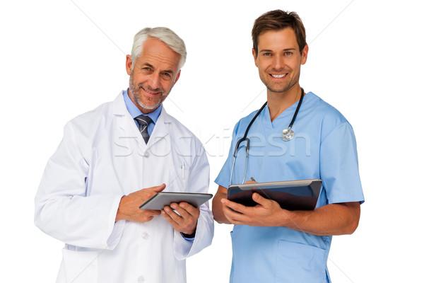 Retrato médico do sexo masculino cirurgião digital homem profissional Foto stock © wavebreak_media