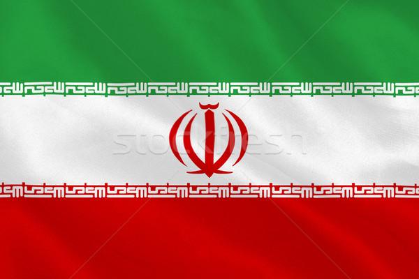 Irán zászló Stock fotó © wavebreak_media