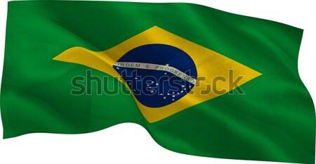 Digitalmente generato Brasile bandiera bianco Foto d'archivio © wavebreak_media