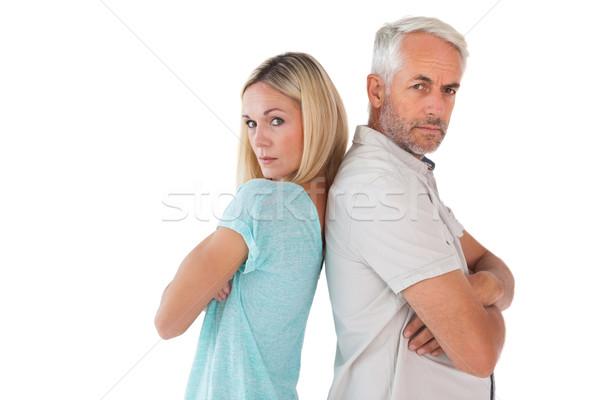 Mutsuz çift değil diğer beyaz Stok fotoğraf © wavebreak_media