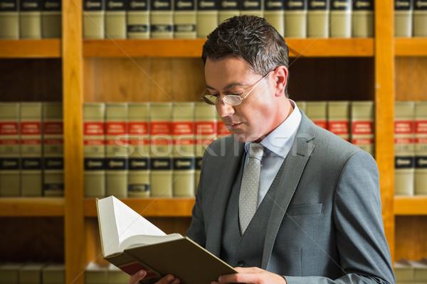 弁護士 読む 図書 法 ライブラリ 大学 ストックフォト © wavebreak_media