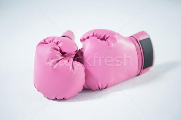 Close-up of pink boxing gloves Stock photo © wavebreak_media