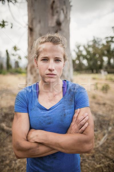 портрет определенный женщину Постоянный Сток-фото © wavebreak_media