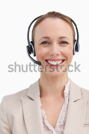 Smiling customer service agent looking at the camera  Stock photo © wavebreak_media