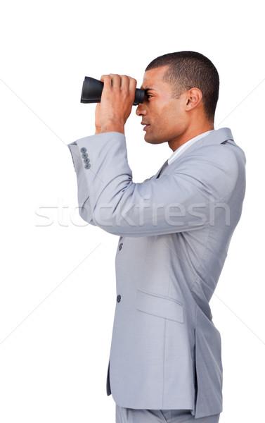 Affaires jumelles blanche homme costume avenir Photo stock © wavebreak_media