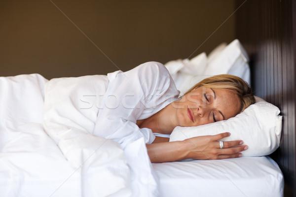 Young woman sleeping Stock photo © wavebreak_media