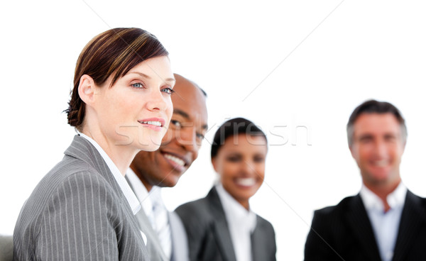Portrait of smiling Business team applauding a presentation a Stock photo © wavebreak_media